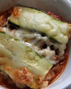 Zucchini Lasagna. Lunch or Dinner.
